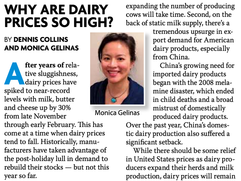 Dairy Outlook – March 2014 Issue – Frozen and Refrigerated Buyer
